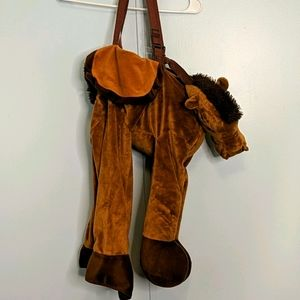 Brown Horse Rider Toddler Costume Size 2T